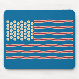 Bacon for the US Funny Mousepad