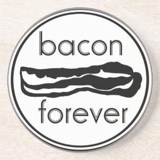 Bacon Forever Sandstone Coaster
