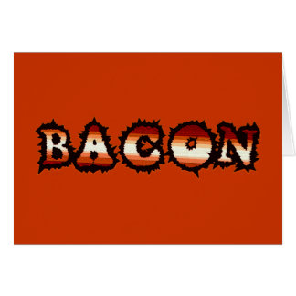 BACON Frenzy Fot Card