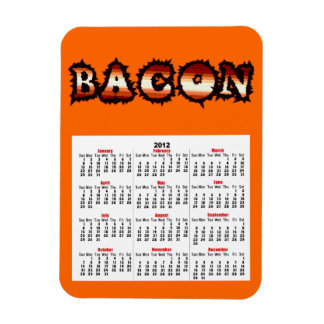 BACON Frenzy Fot Magnet