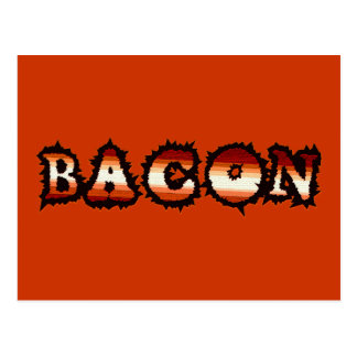 BACON Frenzy Fot Postcard