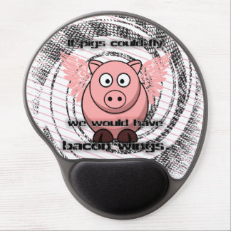 bacon gel mouse pad