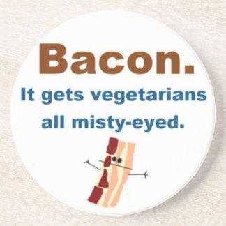 Bacon gets vegetarians misty-eyed coaster