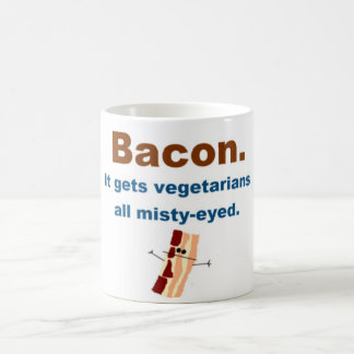 Bacon gets vegetarians misty-eyed coffee mug