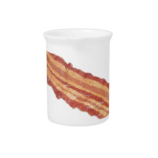 Bacon Gifts Beverage Pitcher