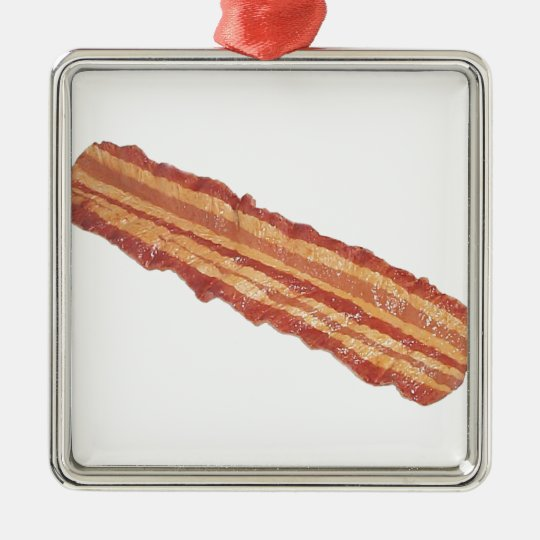 Bacon Gifts Metal Ornament