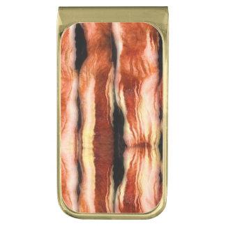 Bacon Gold Finish Money Clip
