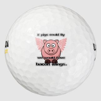 bacon golf balls
