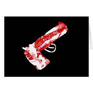 Bacon Gun Card