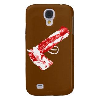 Bacon Gun Samsung Galaxy S4 Cases