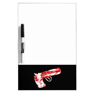 Bacon Gun Dry Erase Board