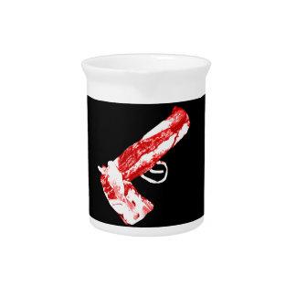 Bacon Gun Beverage Pitcher