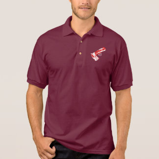 Bacon Gun Polo Shirt