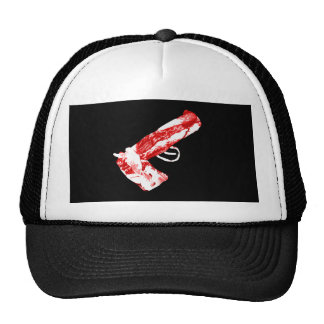 Bacon Gun Trucker Hat