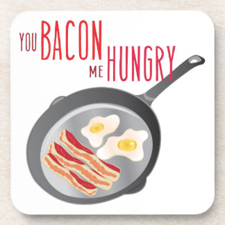 Bacon Hungry Beverage Coaster