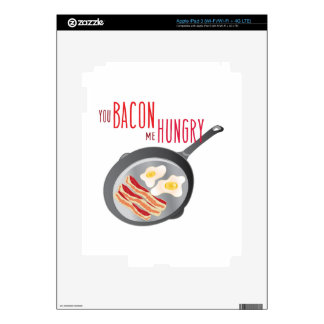 Bacon Hungry Decals For iPad 3