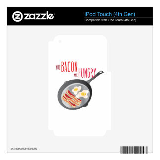 Bacon Hungry Decals For iPod Touch 4G