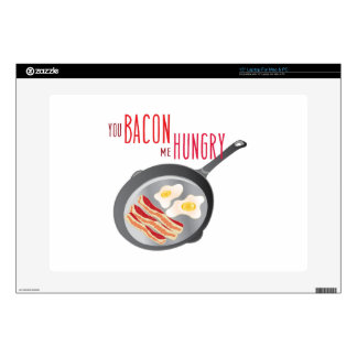 Bacon Hungry Decals For Laptops
