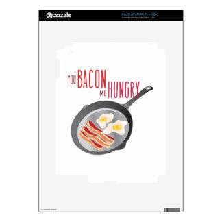 Bacon Hungry iPad 2 Decal