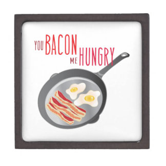 Bacon Hungry Jewelry Box