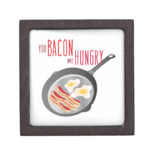Bacon Hungry Keepsake Box