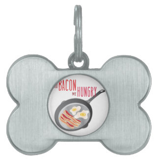 Bacon Hungry Pet ID Tag