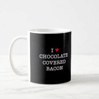 Bacon I Love Chocolate Coffee Mug
