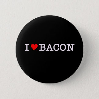 Bacon I Love Pinback Button