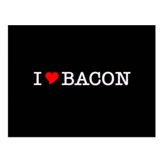 Bacon I Love Post Cards
