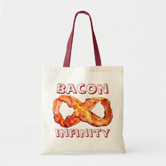 Bacon Infinity Canvas Bag