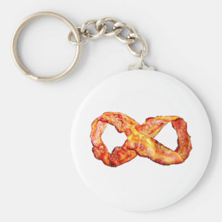 Bacon Infinity Key Chain