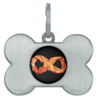 Bacon Infinity Pet Name Tag