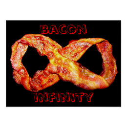 Bacon Infinity Poster