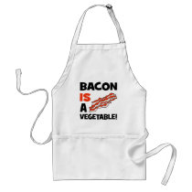 bacon is a vegetable adult apron
