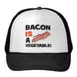 bacon is a vegetable trucker hat