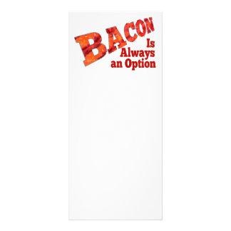 Bacon is Always an Option! Rack Card