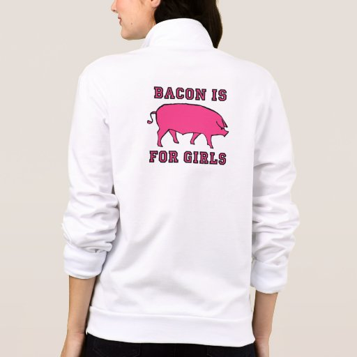Bacon Is For Girls T-shirt