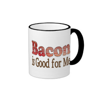 Bacon is Good For Me Mugs
