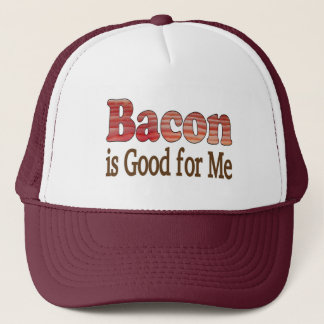 Bacon is Good For Me Trucker Hat