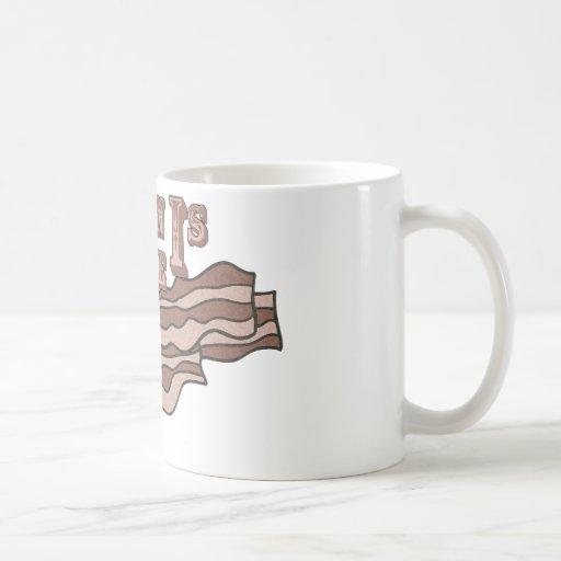 Bacon Is Life Coffee Mug