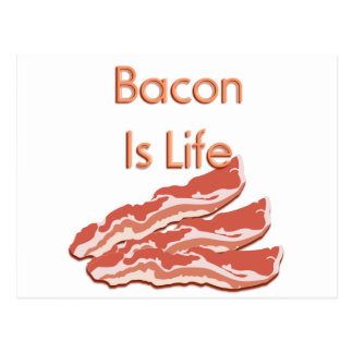 Bacon Is Life Post Card