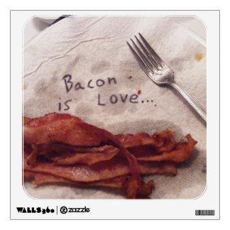 Bacon Is Love Wall Sticker