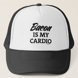 Bacon Is My Cardio Trucker Hat