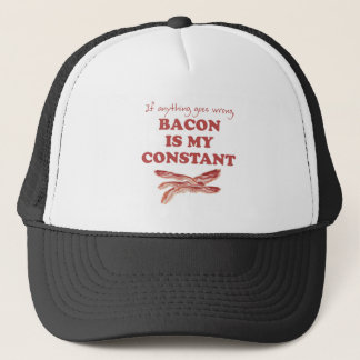 Bacon is my constant trucker hat