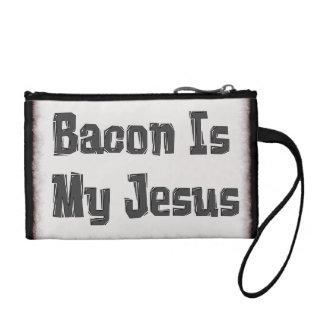 Bacon Is My Jesus Change Purse