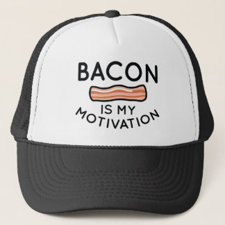Bacon Is My Motivation Trucker Hat