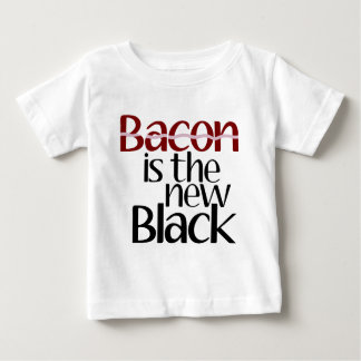 Bacon is the new Black Baby T-Shirt