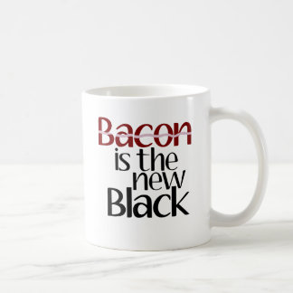 Bacon is the new Black Mugs