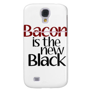 Bacon is the new Black Samsung Galaxy S4 Covers
