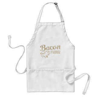 bacon - it's whats for dinner adult apron